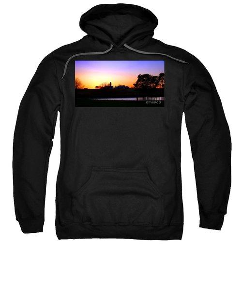 Amish Farm Sunset Sweatshirt