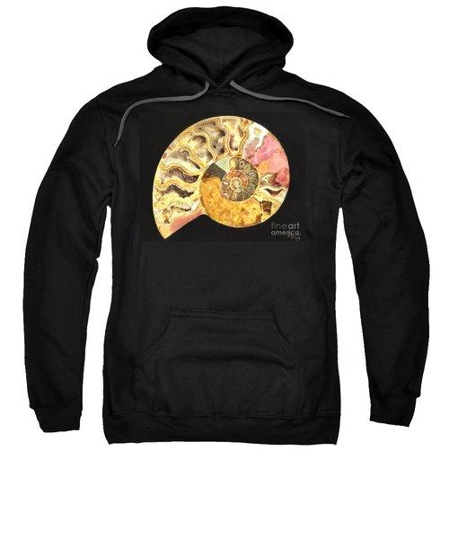 Ammonite Fossil Sweatshirt