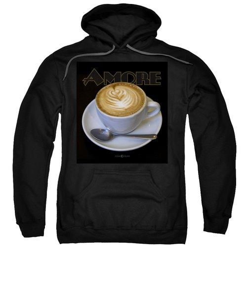 Amore Poster Sweatshirt