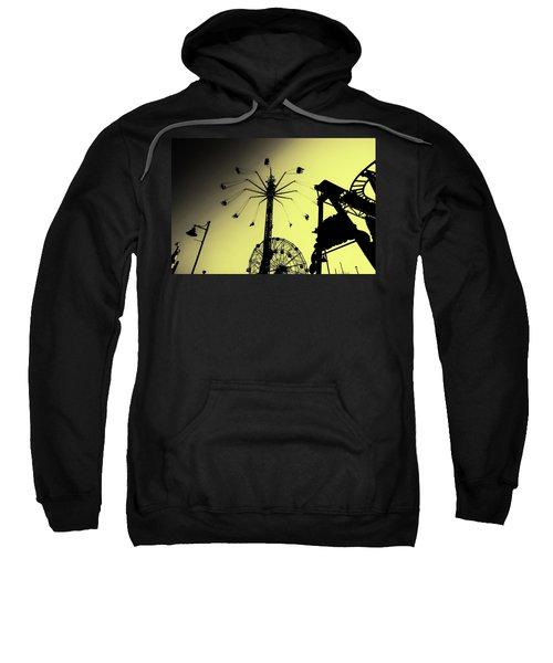 Amusements In Silhouette Sweatshirt