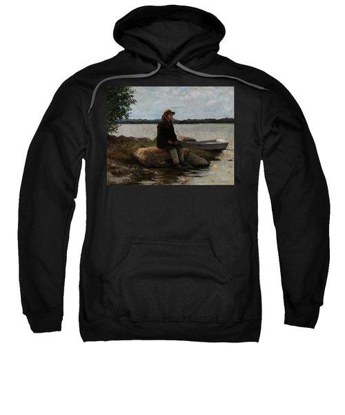 An Angler Ca. 1890 Sweatshirt