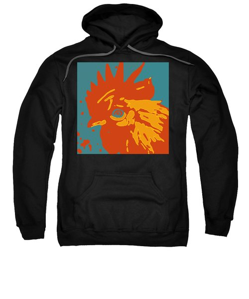 Analog Rooster Rocks Sweatshirt