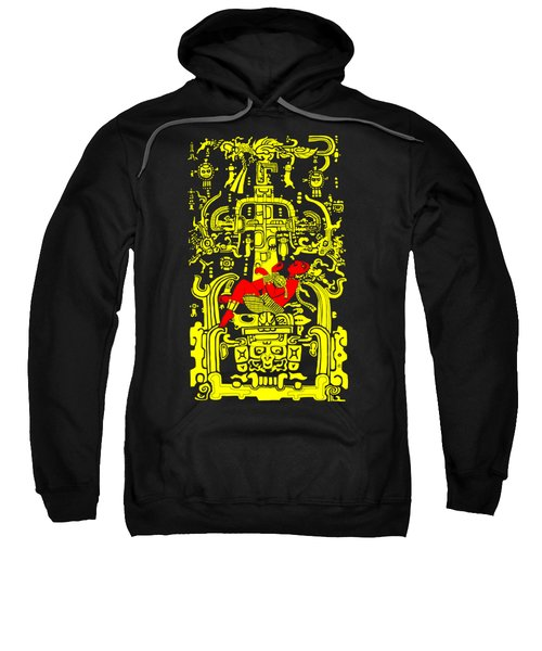 Ancient Astronaut Yellow And Red Version Sweatshirt