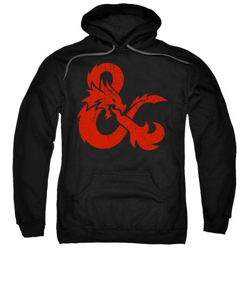 And Logo With Dragon Sweatshirt