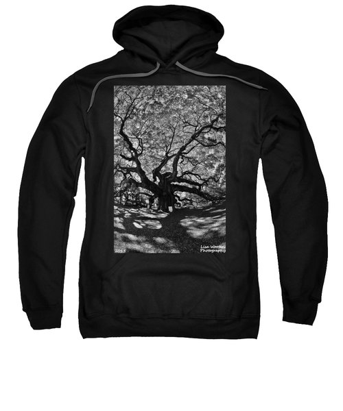 Angel Oak Johns Island Black And White Sweatshirt