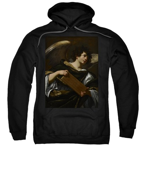 Angels With Attributes Of The Passion, The Superscription From The Cross Sweatshirt