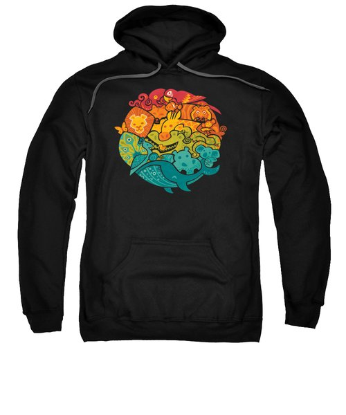 Animals Of The World Sweatshirt by Craig Carr