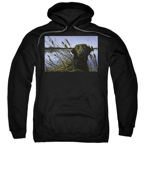 Anticipation - Black Lab Sweatshirt