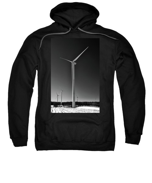 Arcade Wind Turbines 6557 Sweatshirt