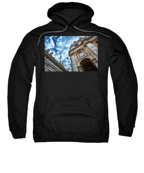 Architectural Majesty On Top Of The Sky Sweatshirt