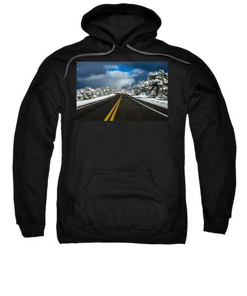 Arizona Snow Road Sweatshirt