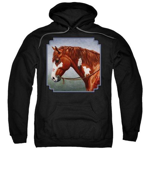 Native American War Horse Sweatshirt