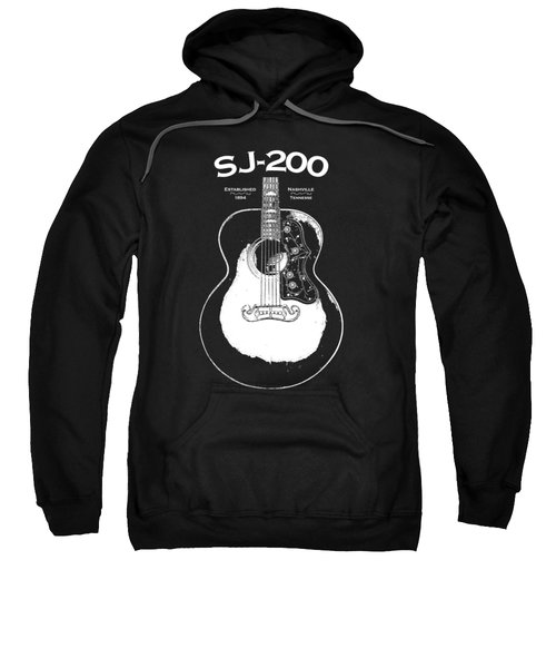 Gibson Sj-200 1948 Sweatshirt by Mark Rogan