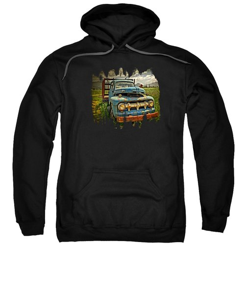 The Blue Classic Ford Truck Sweatshirt