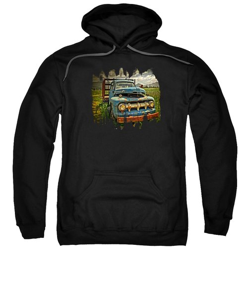 The Blue Classic Ford Truck Sweatshirt