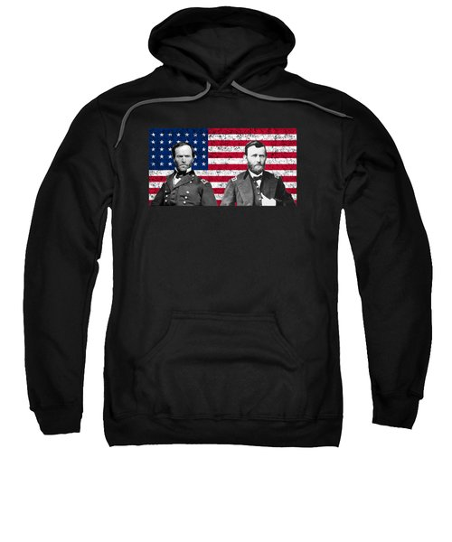 Generals Sherman And Grant  Sweatshirt