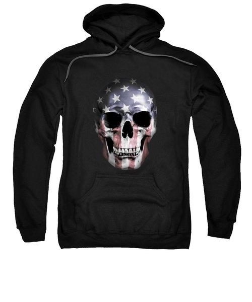 American Skull Sweatshirt by Nicklas Gustafsson