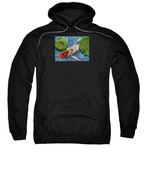 Hidden Koi Sweatshirt by Rhi Johnson