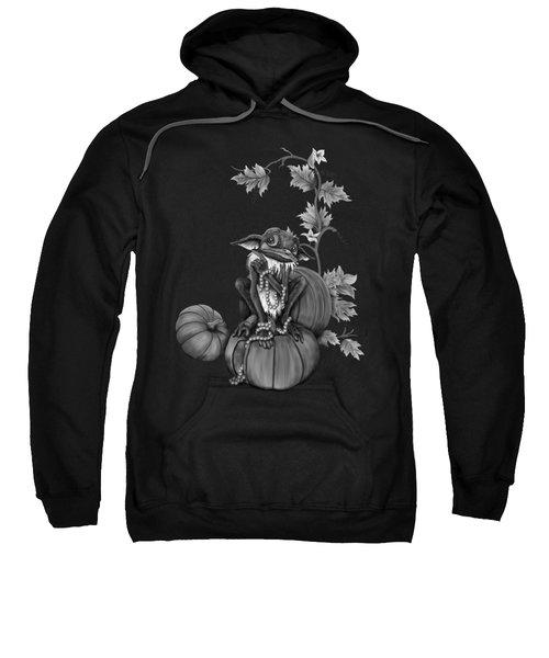 Explain Yourself - Black And White Fantasy Art Sweatshirt
