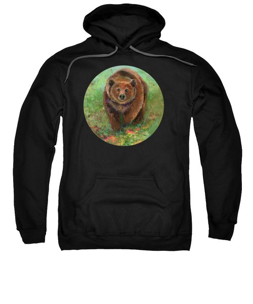 Grizzly In The Meadow Sweatshirt