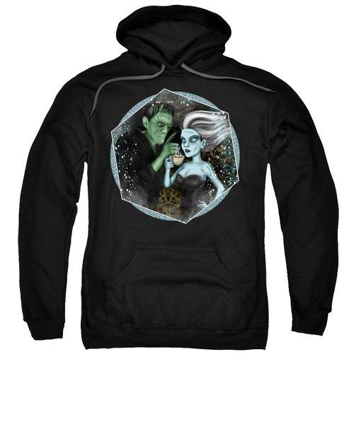Frankenstien Fantasy Art Sweatshirt