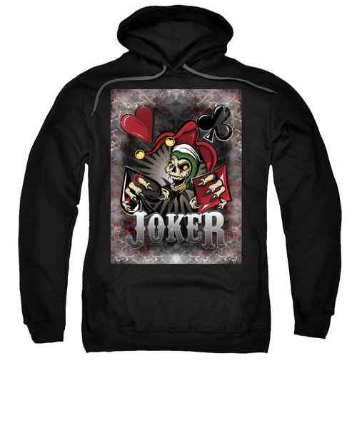 Joker Poker Skull Sweatshirt