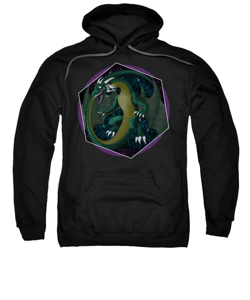 Electric Portal Dragon Sweatshirt