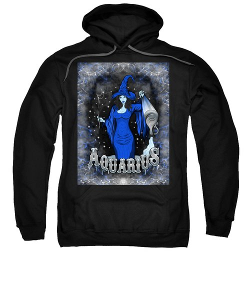The Water Bearer Aquarius Spirit Sweatshirt
