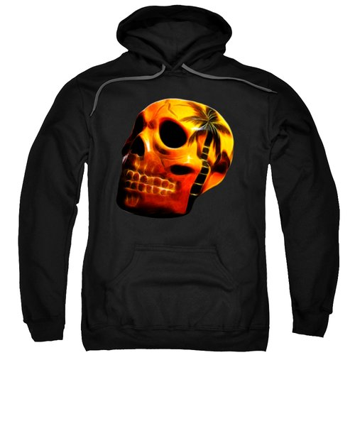 Glowing Skull Sweatshirt