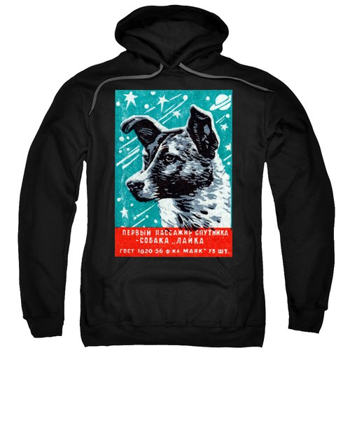 1957 Laika The Space Dog Sweatshirt