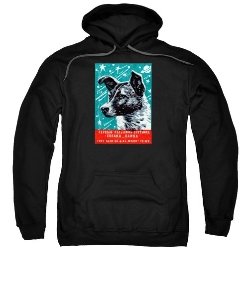 1957 Laika The Space Dog Sweatshirt