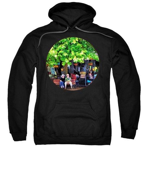 Asheville Nc Outdoor Cafe Sweatshirt