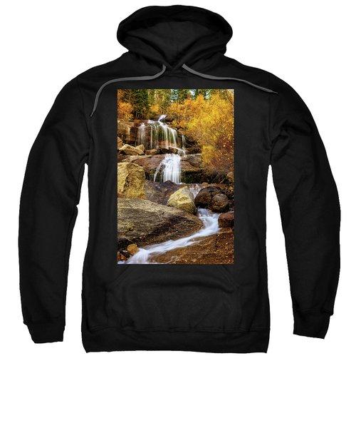 Aspen-lined Waterfalls Sweatshirt