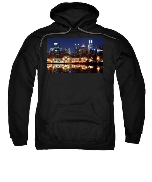 Atlanta From Piedmont Park 2 Sweatshirt