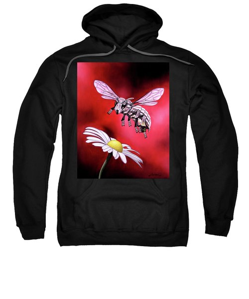 Attack Of The Silver Bee Sweatshirt