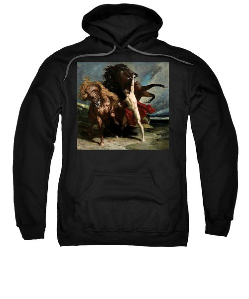 Automedon With The Horses Of Achilles Sweatshirt
