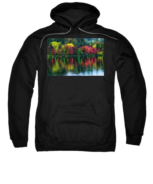 Autumn At Green Lake Seattle Sweatshirt