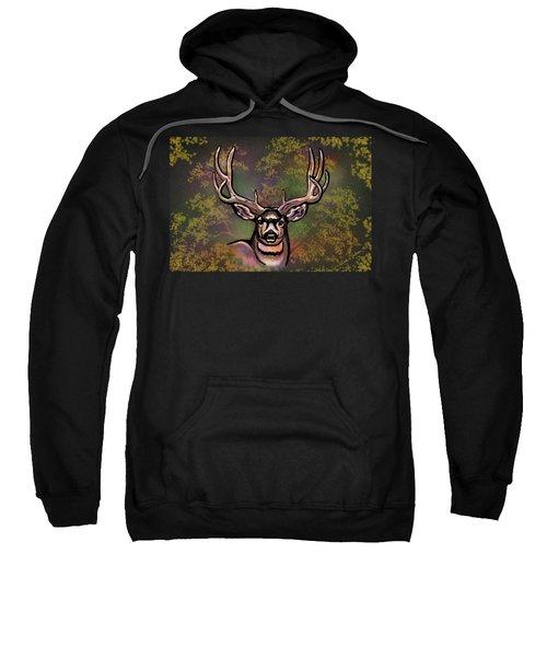 Autumn Deer Abstract Sweatshirt