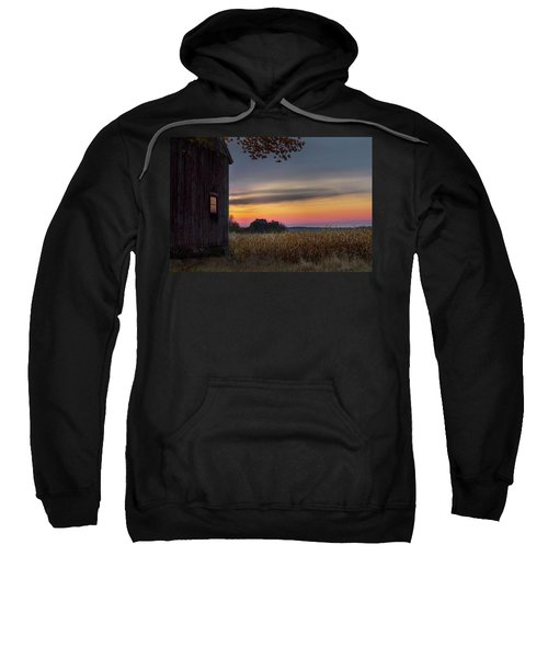 Sweatshirt featuring the photograph Autumn Glow by Bill Wakeley