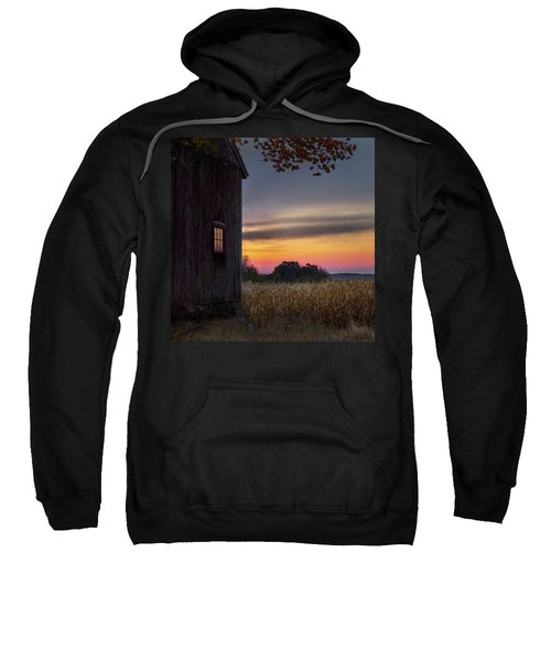 Sweatshirt featuring the photograph Autumn Glow Square by Bill Wakeley