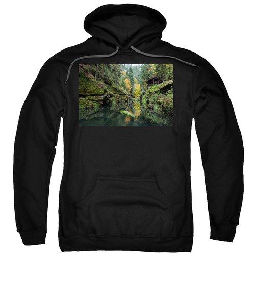 Autumn In The Kamnitz Gorge Sweatshirt