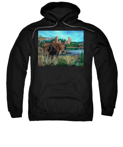 Autumn Moose Sweatshirt