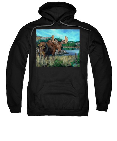 Autumn Moose Sweatshirt