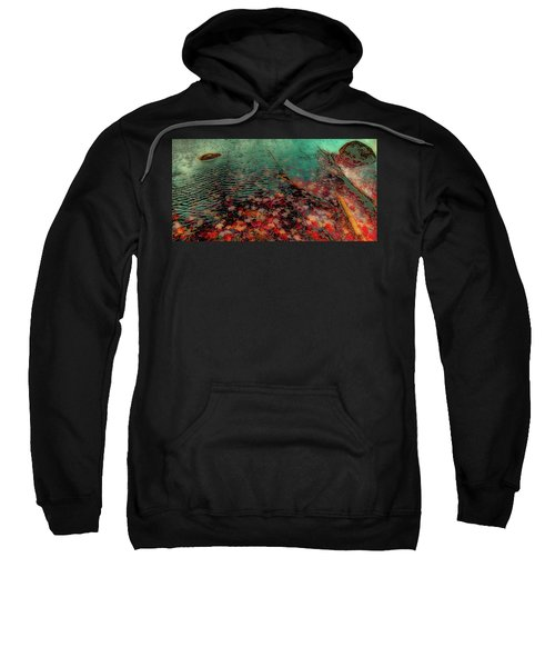Sweatshirt featuring the photograph Autumn Submerged by David Patterson