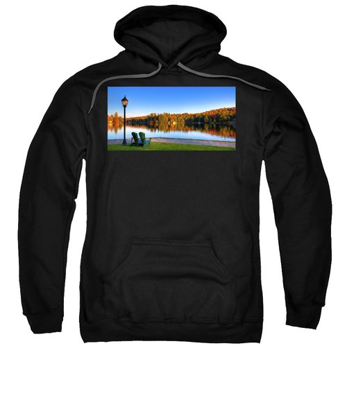 Autumn View For Two Sweatshirt