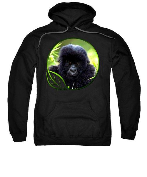 Baby Gorilla Sweatshirt by Dan Pagisun