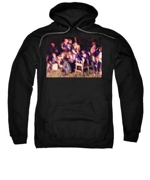 Bacchanalian Freak Show With Hieronymus Bosch Treatment Sweatshirt