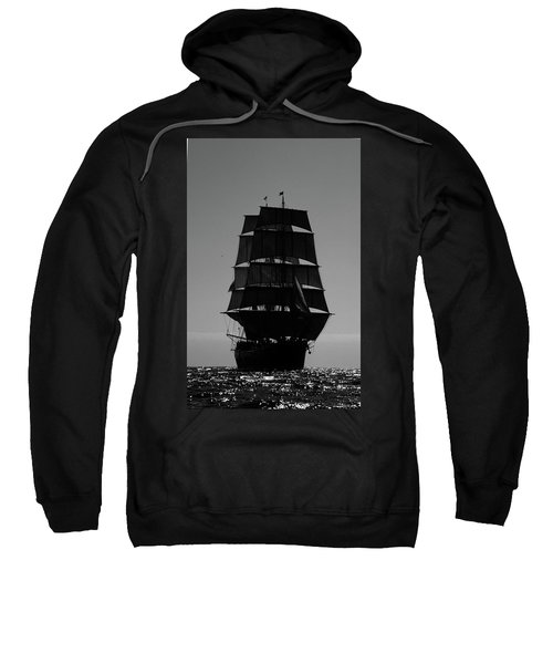 Back Lit Tall Ship Sweatshirt