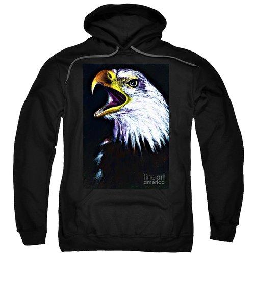 Bald Eagle - Francis -audubon Sweatshirt