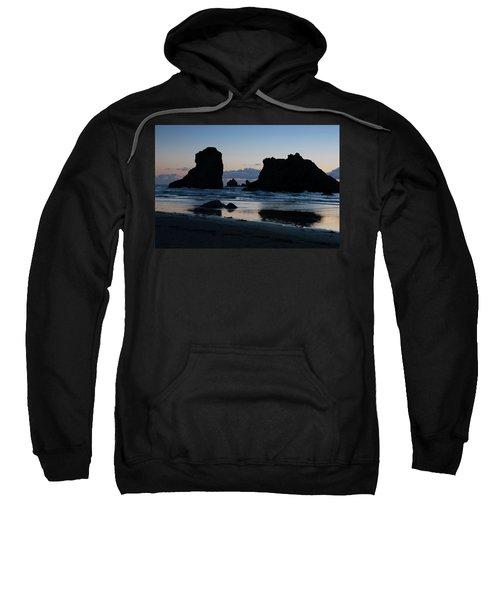 Bandon Oregon Sea Stacks Sweatshirt